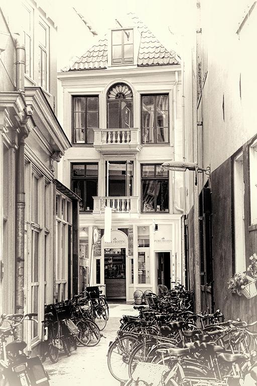Fotografie Seitengasse in Groningen